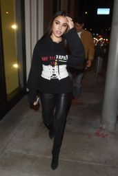 Madison Beer Night Out Style - Catch in LA 2/14/ 2017