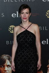 Maggie Siff at 'Billions' Season 2 Premiere in NYC 2/13/ 2017