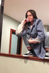 Maia Mitchell - Social Media Pics, February 2017
