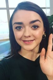 Maisie Williams - Social Media Pics, Jan-Feb 2017
