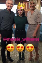 Maisie Williams - Social Media Pics, Jan-Feb 2017