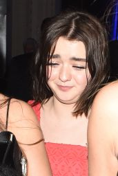 Maisie Williams - Warner Music Brit Awards 2017 After Party in London