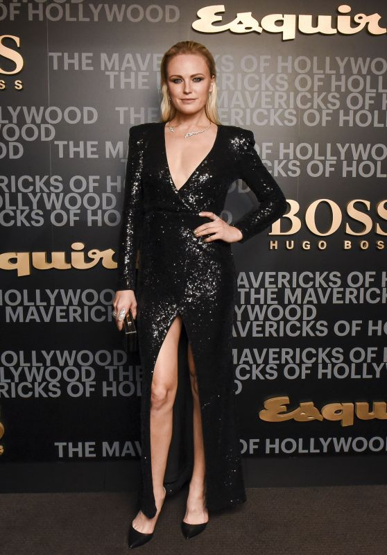 Malin Akerman - Esquire Celebrates March Cover Star James Corden with Hugo Boss, Los Angeles 2/8/ 2017