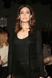 Mandy Moore - Naeem Khan Fashion Show in New York 2/14/ 2017