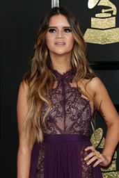 Maren Morris at GRAMMY Awards in Los Angeles 2/12/ 2017