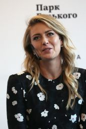 Maria Sharapova at Gorky Park to Announce the Sugarpova Launch in Moscow, February 2017
