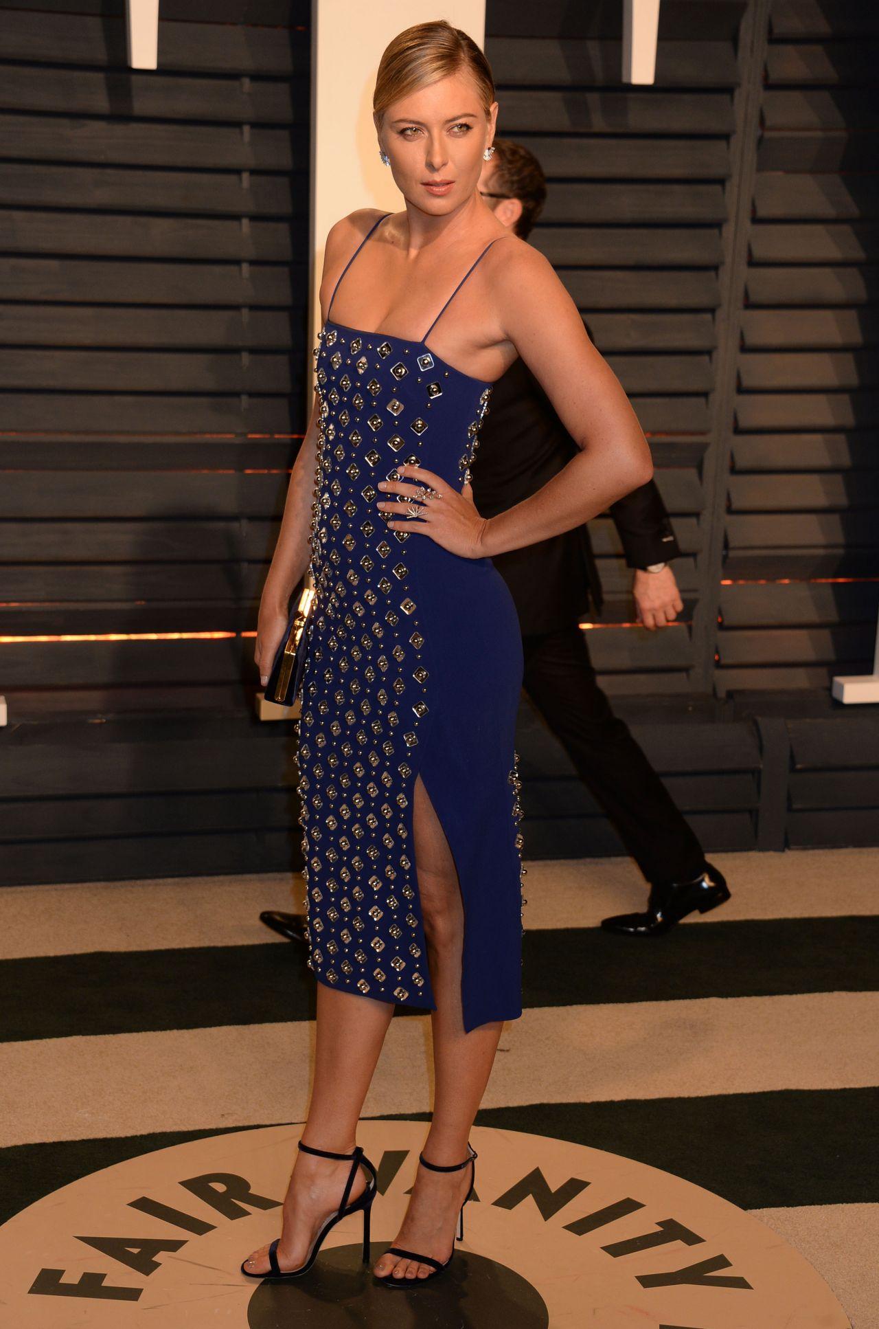 Maria Sharapova at Vanity Fair Oscar 2017 Party in Los ...