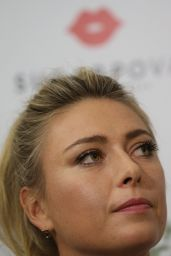 Maria Sharapova - Introduces New Sugarpova Chocolates at the Azbuka Vkusa Supermarket in Moscow 2/1/ 2017