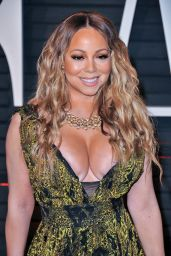 Mariah Carey at Vanity Fair Oscar 2017 Party in Los Angeles
