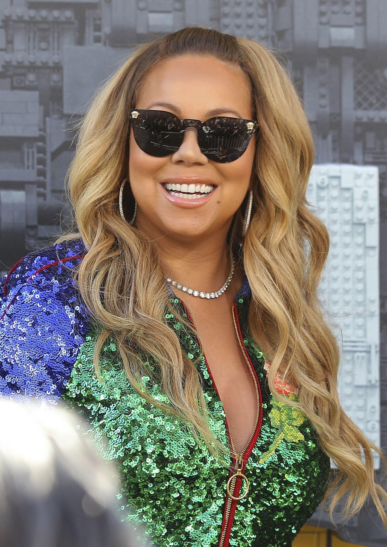 Mariah Carey - Batman Lego Movie Premiere in Westwood 2/4 ... Mariah Carey