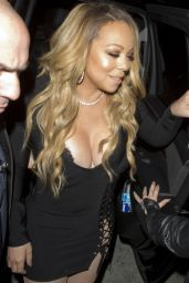 Mariah Carey - Heads To Catch in West Hollywood 2/4/ 2017