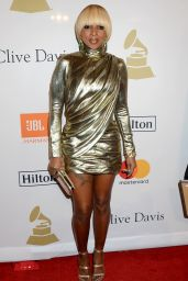Mary J. Blige – Clive Davis Pre-Grammy 2017 Party in Beverly Hills