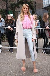 Maryna Linchuk - Topshop Unique Fashion Show at London Fashion Week 2/19/ 2017