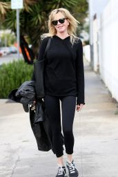 Melanie Griffith - Leaving a Skin Care Salon in West Hollywood 2/7/ 2017