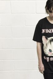 Mellisa Clarke - Photoshoot for Disturbia Clothing 2017