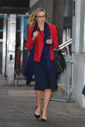 Michelle Dewberry at the ITV Studios in London 2/21/ 2017