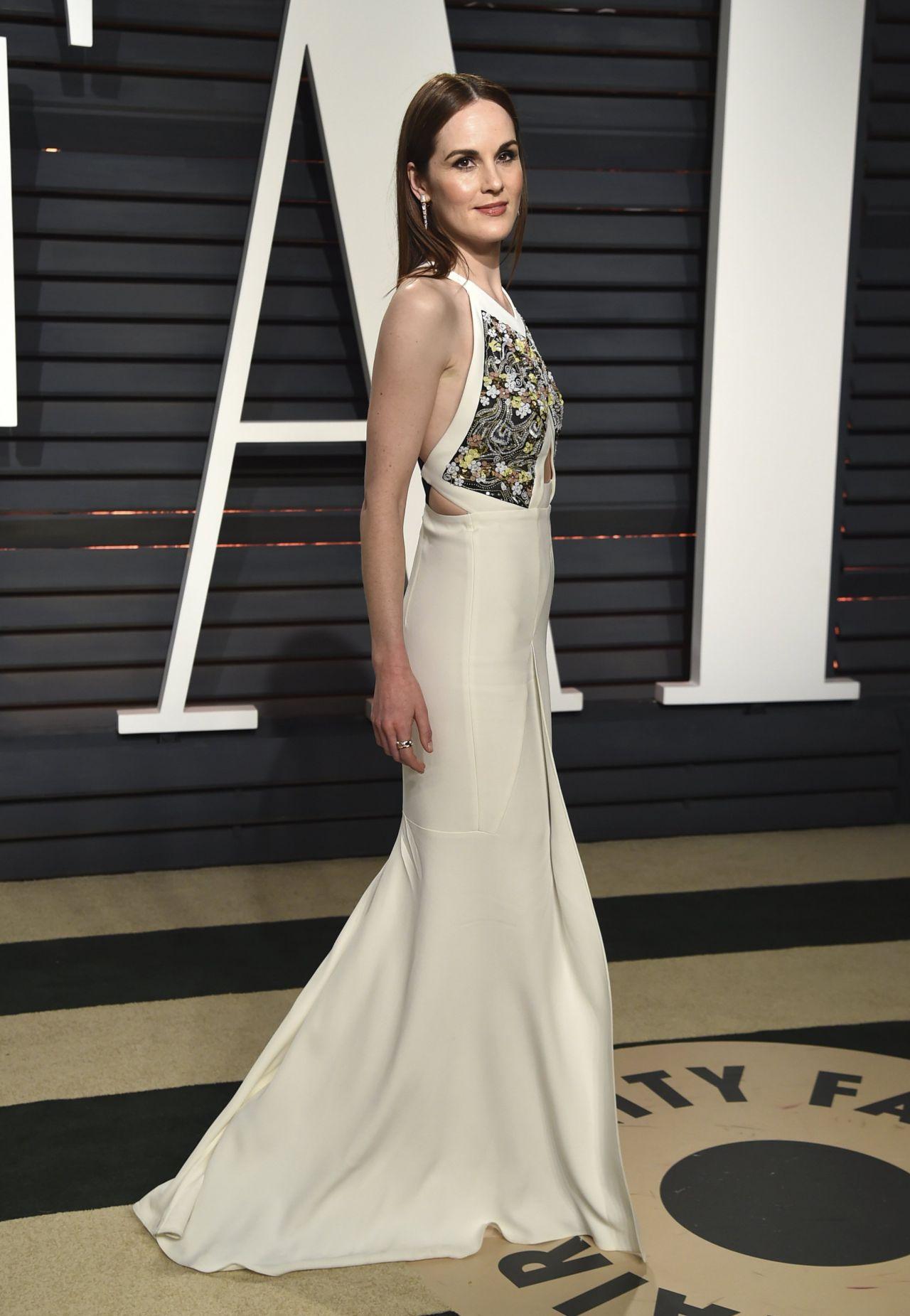Michelle Dockery at Vanity Fair Oscar 2017 Party in Los ...