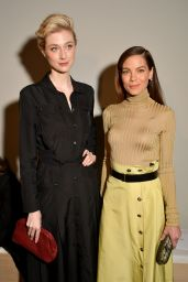 Michelle Monaghan & Elizabeth Debicki - Bottega Veneta Show at Milan Fashion Week 2/25/ 2017