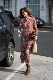 Michelle Monaghan - Shopping in Beverly Hills 2/1/ 2017