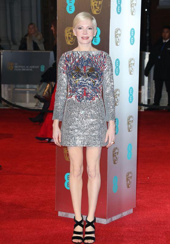 Michelle Williams at BAFTA Awards in London, UK 2/12/ 2017