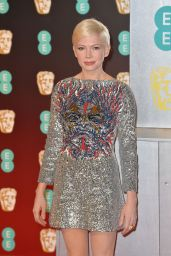 Michelle Williams at BAFTA Awards in London, UK 2/12/ 2017