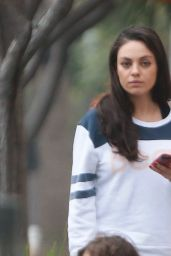 Mila Kunis - Out for Breakfast in Beverly Hills 2/5/ 2017