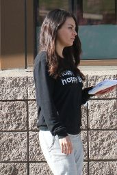 Mila Kunis - Out Running Errands in Studio City, CA 2/15/ 2017