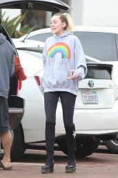 Miley Cyrus on the Streets of Malibu, CA 2/5/ 2017