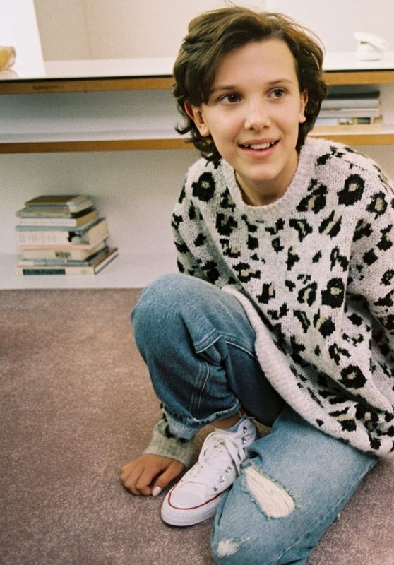 Millie Bobby Brown - Converse Photoshoot, February 2017