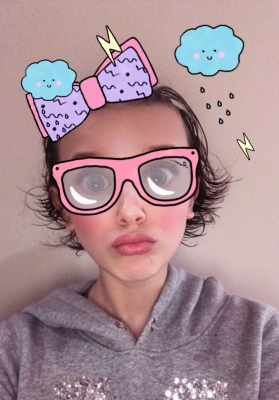 Millie Bobby Brown Photos - Social Media 2/20/ 2017
