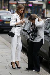 Millie Mackintosh Style - London 2/21/ 2017