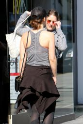 Minka Kelly After Workout - West Hollywood  2/12/ 2017