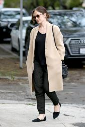 Minka Kelly - Goes Into a Skin Care Salon in Beverly Hills 2/6/ 2017