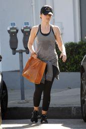 Minka Kelly Gym Style - West Hollywood 2/1/ 2017