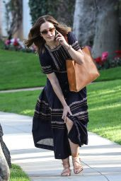 Minka Kelly - Shows Off Her Fashion Sense After Lunch, Beverly Hills 1/30/ 2017
