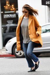 Minka Kelly Street Style - Shoping in Los Angeles 2/21/ 2017