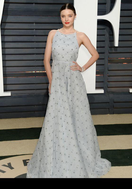 Miranda Kerr at Vanity Fair Oscar 2017 Party in Los Angeles