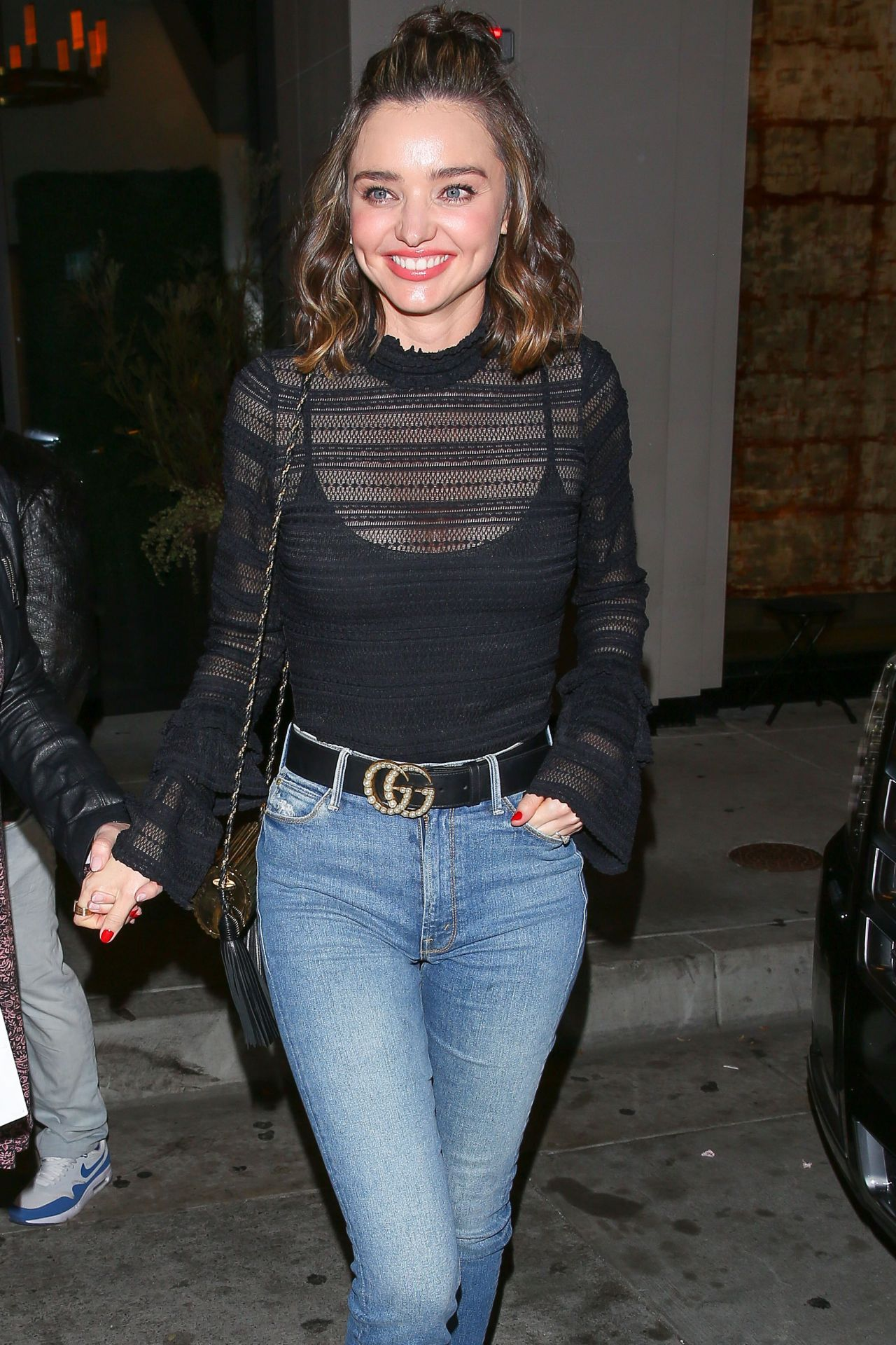 Miranda Kerr In Tight Jeans At Catch In West Hollywood 2 1