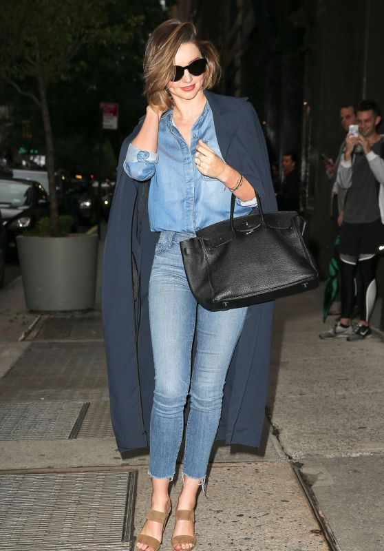 Miranda Kerr - Out in New York City 2/23/ 2017