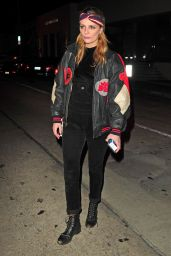 Mischa Barton at Catch Restaurant in West Hollywood 2/4/ 2017