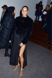 Misty Copeland Arrives at Prabal Gurung Fashion Show in New York 2/12/ 2017