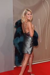 Mollie King – The Brit Awards at O2 Arena in London 2/22/ 2017