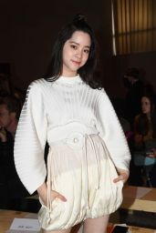 Nana Ouyang at Sportmax Show - Milan Fashion Week 2/24/ 2017