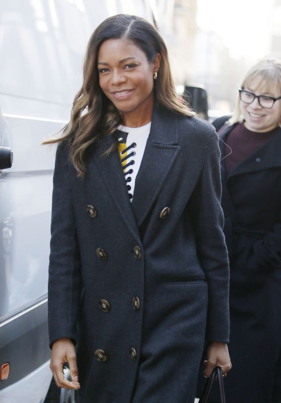 Naomie Harris - Out in London, UK 2/13/ 2017