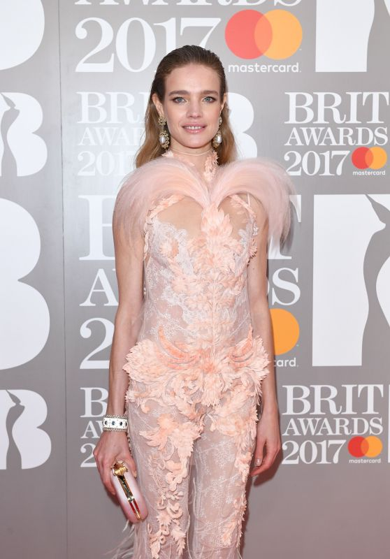 Natalia Vodianova - The Brit Awards at O2 Arena in London 2/22/ 2017