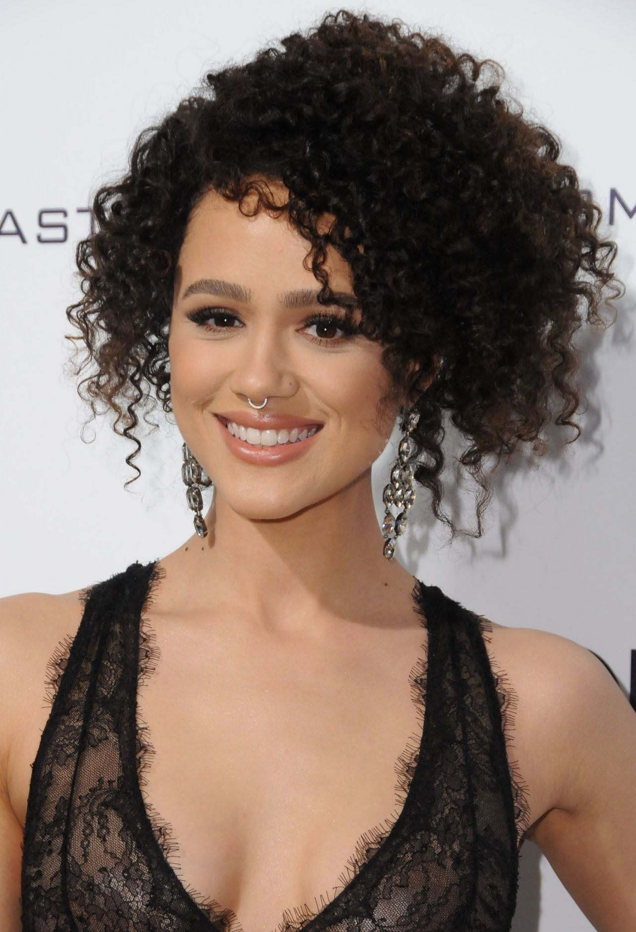 Nathalie Emmanuel At Elton John Aids Foundation Academy