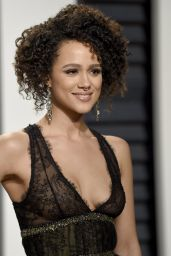 Nathalie Emmanuel at Vanity Fair Oscar 2017 Party in Los Angeles