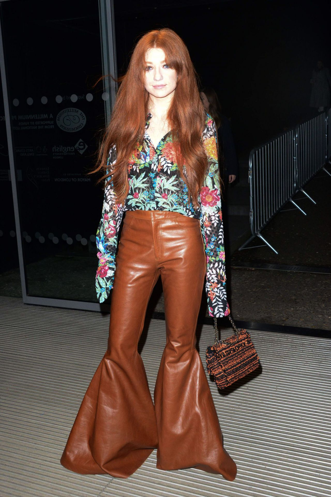 Nicola Roberts House Of Holland Show At London Fashion