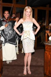 Nicole Kidman – Charles Finch and Chanel Annual Pre-Oscar Awards Dinner in Beverly Hills 2/25/ 2017