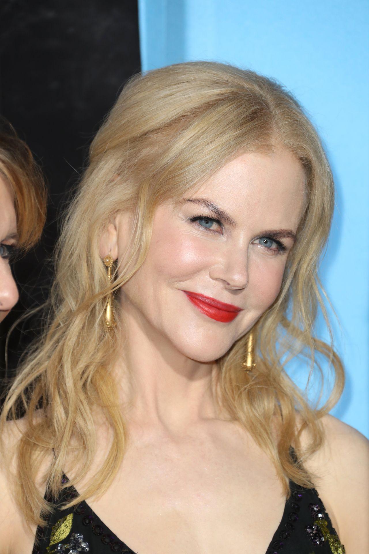 Nicole Kidman Hbo S Big Little Lies Premiere In Los